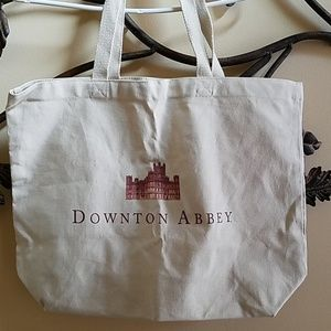 NEVER USED Downton Abbey Canvas Tote Large